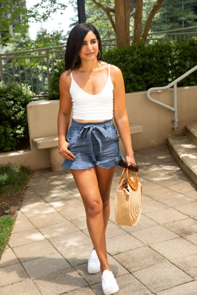 Why You Should Buy Tie Waist Shorts Right Now